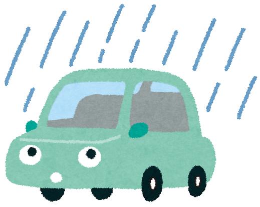 梅雨です。